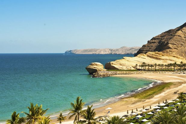 Oman-plage