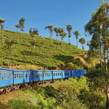 Prenez le train au Sri Lanka
