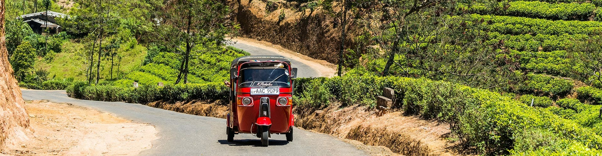 Tuk Tuk excursion au Sri Lanka