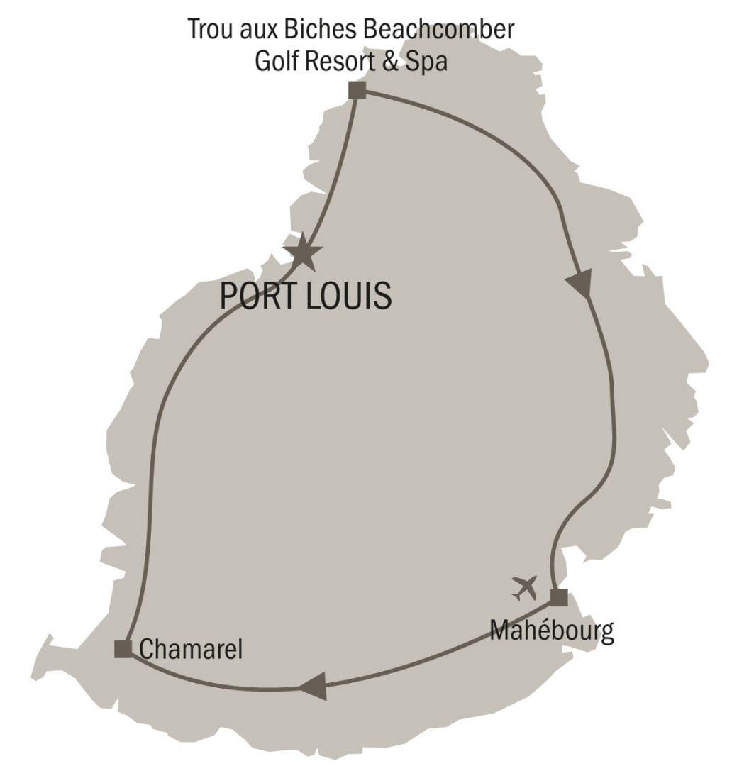 Circuit île Maurice